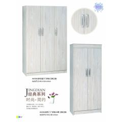 胜芳衣柜 木质衣柜 两开门衣柜 板式衣柜批发 卧室家具  正达家具