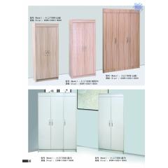 胜芳衣柜 木质衣柜 两开门衣柜 板式衣柜批发 卧室家具 隆昌家具