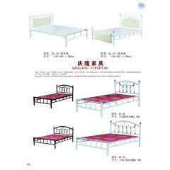 胜芳床铺批发 折叠床 单人床 双人床 午休床 行军床 简易床 铁质板床 板床批发 庆隆家具
