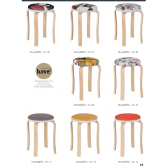 胜芳批发铁腿凳子 木质凳子 四腿凳子三腿凳子 铁质凳子 套凳 方凳 简易家具  胜鑫家具