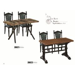 胜芳家具 主题酒店桌椅  铁腿桌椅 铝管桌椅  餐厅椅胜芳家具 皇冠椅 众合家具 餐厅桌椅