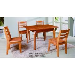 胜芳餐桌椅 实木旋转大餐台 桌面 桌架 铁质餐台 实木餐桌椅 实木餐台椅 中式餐桌椅 实木餐桌椅组合批发 木质家具 餐厅家具中式家具  长松家具