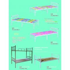 胜芳床铺批发 折叠床 单人床 双人床 午休床 行军床 简易床 铁质板床 板床批发 金峰家具