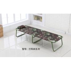 胜芳床铺批发 折叠床 单人床 铁艺折叠床 双人床 四折床 午休床 折叠椅 行军床 简易床 铁质板床 板床 中正阳家具