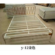 胜芳床铺批发双人床 铁床 铁艺床 双人床 折叠双人床 铁艺双人床 双人板床 金属床 卧室家具 欧博瑞家具