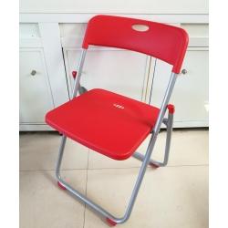 3017红折叠椅 胜芳折叠椅批发 胜芳折椅批发 折叠椅 家用会客椅 餐椅 电脑椅 桥牌椅 莲轩家具