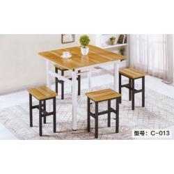 胜芳家具批发 新中式 实木餐桌椅组合 餐厅饭桌 现代 全套家具 定制 维嘉隆家具