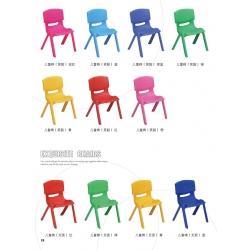 胜芳家具批发椅子儿童椅子靠背小凳子儿童塑料板凳 宝宝家用成人座椅  幼儿园小孩桌椅  鑫凯家具