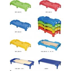 胜芳胜博发网站儿童床 幼儿园床塑料床 叠叠床 注塑环保 床宝宝午睡床午睡床 儿童床午休床  鑫凯家具