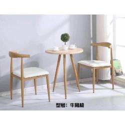 胜芳咖啡桌椅批发 牛角椅 复古式咖啡桌椅 实木咖啡桌椅 主题咖啡桌椅 钢木家具 快餐桌椅 休闲家具 会所家具 咖啡店家具 圣士达家具