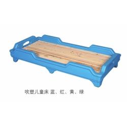胜芳塑料床批发 儿童床 幼儿园用床 板式塑料床 儿童家具 学校家具 梦楠家具