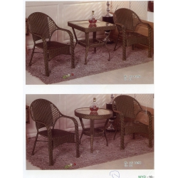 胜芳藤椅 藤椅茶几组合 藤编椅子 阳台桌椅 庭院桌椅 休闲桌椅 咖啡台桌椅批发 万亿达家具  室内家具 休闲家具 藤制家具 户外家具