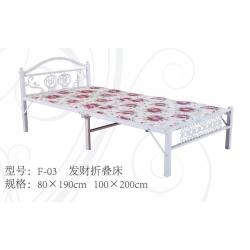 胜芳床铺 折叠床 折叠床 单人床 铁床 板床批发 鑫越家具厂(原付强家具)
