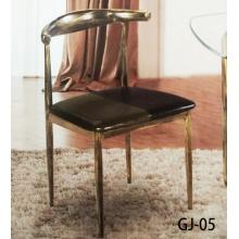 胜芳家具批发 复古牛角椅 铁艺凳子酒店椅批发 广杰家具