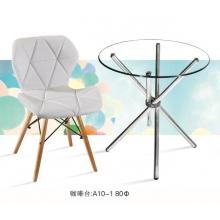 胜芳咖啡桌批发 小型咖啡台 玻璃茶几 平板玻璃茶几 钢化玻璃茶几 客厅茶几  客厅家具 广华家具