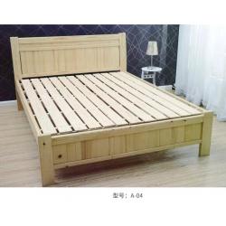 胜芳家具 家具批发 床铺 木床 婚床 双人床 木质床 双人板床  卧室家具 田园家具  金利源家具
