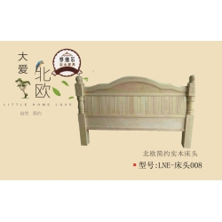 胜芳床铺批发 床头 松木床头 双人床 实木床 折叠双人床 木质双人床 板床 北欧家具 卧室家具 实木家具 罗纳尔家具