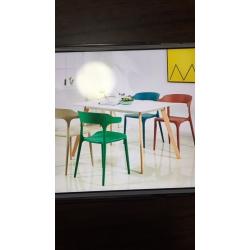 塑料椅牛角 伊姆斯 休闲椅 休闲吧椅 咖啡椅 北欧风椅子 大品牌