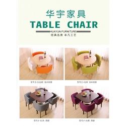 胜芳休闲桌椅批发 胜芳休闲卡座 铁艺休闲桌椅 咖啡台桌椅 茶桌椅  华宇家具
