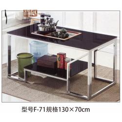 胜芳茶几批发 不锈钢茶几 小茶几 玻璃茶几 咖啡桌 咖啡台 饮品店桌 客厅家具 红叶家具