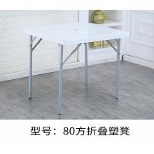 胜芳塑料椅子批发 加大加厚成人塑料靠背椅 大排档凳子 塑料桌 折叠塑凳 金兴家具