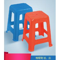 胜芳塑料凳子批发 加厚成人家用餐桌凳 高凳子 特厚凳 方凳 圆凳 儿童凳椅子 简易家具 天祥家具