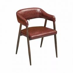 铁皮椅胜芳餐椅批发  金属椅 铁腿餐椅 不锈钢餐椅 餐厅家具  中庆德家具