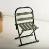 胜芳家具批发 加厚靠背马扎绿 折叠椅