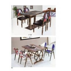 胜芳澳门葡京网上娱乐家具批发 主题餐桌椅 时尚餐桌椅 折叠桌 钢木家具 曲木家具 腾达家具