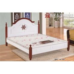 胜芳床铺批发 双人床 实木床 铁条床 折叠双人床 木质双人床 双人板床 北欧家具 卧室家具 酒店家具 宇鑫家具