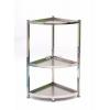 胜芳家具批发不锈钢置物架厨房收纳架三角置物架瑞沃达家具
