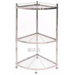 胜芳家具批发不锈钢置物架三角架瑞沃达家具