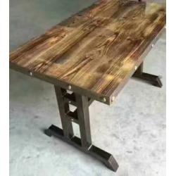 胜芳餐桌椅批发 复古式餐桌椅 实木餐桌椅 主题餐桌椅 转印餐桌椅 钢木家具 快餐桌椅 休闲家具 工业风家具 主题家具 酒吧家具 明明强家具