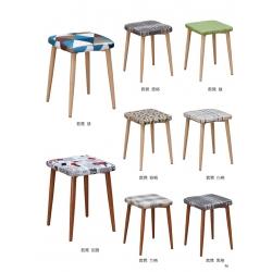胜芳批发铁腿凳子 四腿凳子三腿凳子 铁质凳子 套凳 方凳 简易家具 恒强家具
