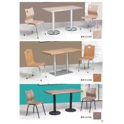 胜芳快餐桌椅批发 连体餐桌 食堂餐桌 学校餐桌 曲木餐桌 曲木家具 曲木椅四连体 餐厨家具 成盛家具