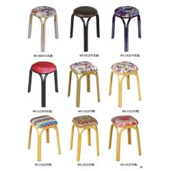 胜芳铁腿凳子批发 三腿凳子 四腿凳子 铁质凳子 钢筋凳 套凳 圆凳 简易家具 王氏家具