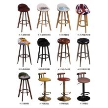 胜芳酒吧椅批发 吧台椅 吧台凳 旋转吧台 理发椅 高脚椅 升降椅 KTV前台椅 靠背酒吧椅 酒吧家具 美迪家具