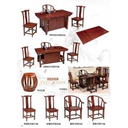 胜芳茶道桌批发 茶桌椅组合 茶几 茶道桌 泡茶桌 茶艺桌 功夫茶桌 茶台桌 双发家具