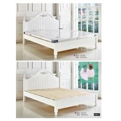 胜芳床铺批发 双人床 实木床 铁条床 折叠双人床 木质双人床 双人板床 北欧家具 卧室家具 酒店家具 金源达家具
