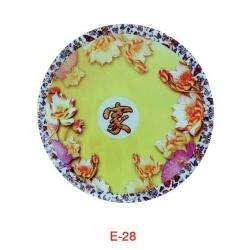 胜芳桌面批发 钢化玻璃定做 茶几餐桌玻璃台面 桌面玻璃 面烤漆磨砂圆形 方形玻璃桌面 赛诺二合家具