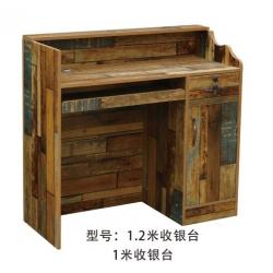 胜芳收银台 收款台 柜台 接待柜台 收银柜台 接待台 吧台 办公家具 兄弟家具