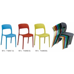 胜芳塑料椅批发 现代简约 靠 背椅子 家用餐椅 成人 北欧休闲 创意凳子 美式复古 塑料椅子 会议椅子 金兴家具
