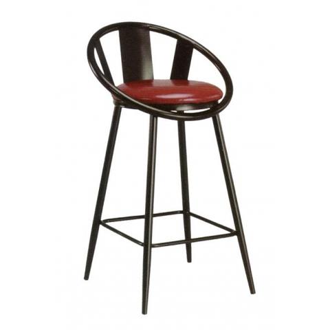 胜芳酒吧椅批发 酒吧台椅子 复古美式吧椅 高脚椅凳 KTV前台椅 高脚椅 吧台凳 理发椅 靠背酒吧椅 升降椅 吧凳 鸿瑞家具