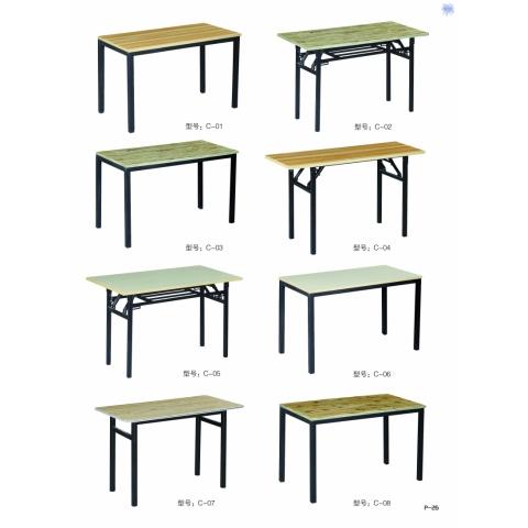 胜芳折叠桌 小型折叠桌 小书桌 手提桌 小方桌 木质折叠桌 户外桌 户外家具批发 宏发家具