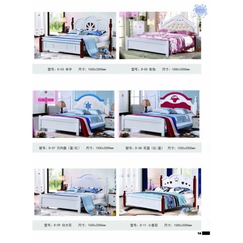 胜芳床铺批发 双人床 实木床 铁条床 折叠双人床 木质双人床 双人板床 北欧家具 卧室家具 酒店家具 恒泰家具