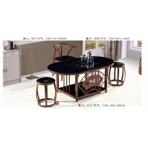 胜芳茶道桌批发 茶桌椅组合 茶几 茶道桌 泡茶桌 茶艺桌 功夫茶桌 茶台桌 爱乐家具