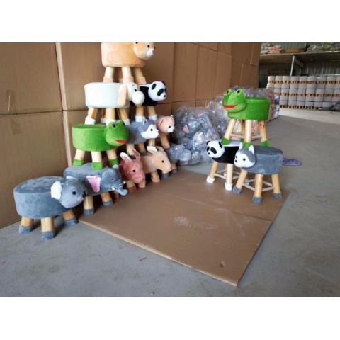 皮墩皮凳布墩动物墩沙发