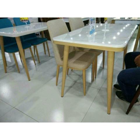 胜芳家具批发餐台椅玻璃拉台椅实木餐台椅橡木餐台椅北欧餐台椅