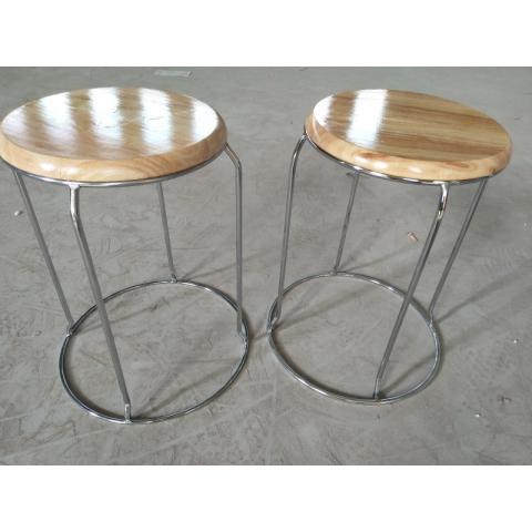 胜芳铁腿凳子 大休闲凳 钢筋凳批发 寰宇家具 简易家具