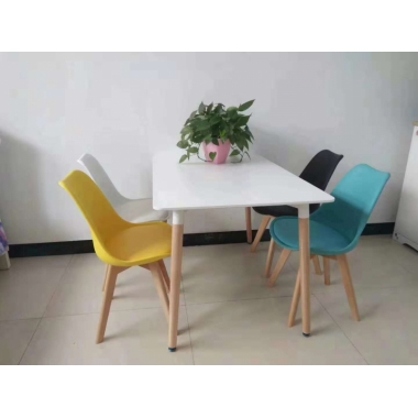 胜芳家具批发郁金香椅子现代简约书桌椅家用餐厅靠背椅电脑椅凳子实木北欧餐椅兴东家具